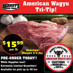 American Wagyu Beef Tri-Tip